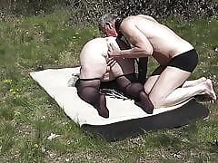 Lamiendo el culo de milf - el mejor porno aficionado